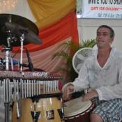 Andy  Mason in Trinidad.African drumming workshops-African drumming-drumming workshops-african drumming workshops for schools-drumming workshops for schools-limbo dancer-limbo dance-limbo dancing-limbo dance workshops-limbo dancing workshop-dance workshops for schools-african dance workshops for schools-african dance